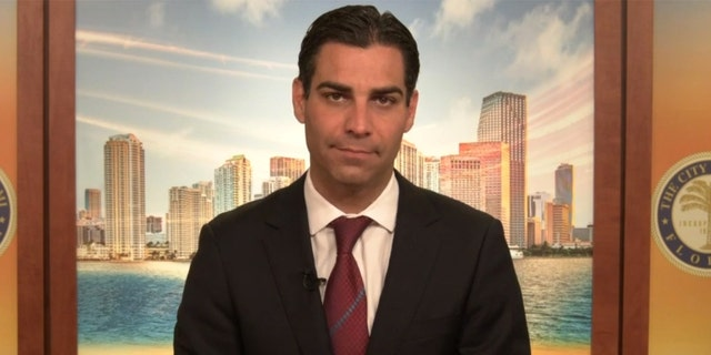 Miami Mayor Francis Suarez tested positive for the coronavirus Friday.