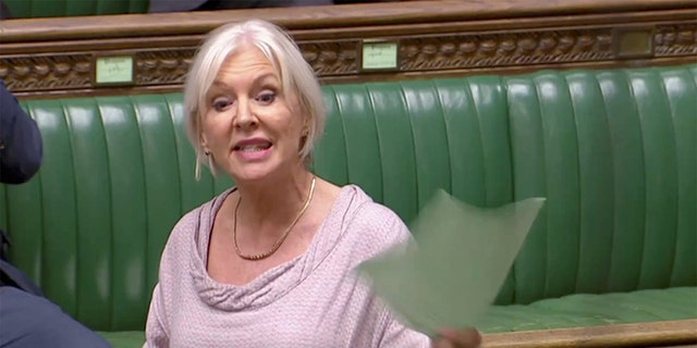 British Conservative MP Nadine Dorries, Reuters TV via REUTERS - RC11B0A0B2D0