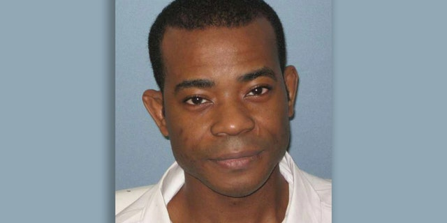 Death-row inmate Nathaniel Woods Jr., 43, was executed in Alabama on Thursday after being convicted of capital murder for his role in another defendant's killing of three Birmingham police officers in 2004. (Alabama Department of Corrections via AP)