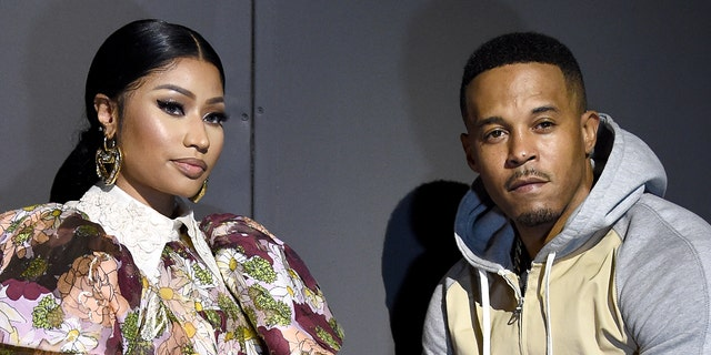 Nicki Minaj's husband, Kenneth Petty, right, was convicted in 1995 for the attempted first-degree rapeof a 16-year-old girl, followinga 1994incidentwhen he was 16.