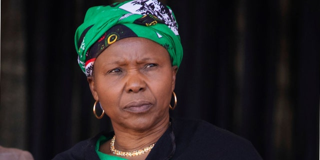 Zimbabwe's defense minister, Oppah Muchinguri, described the coronavirus as God's way of punishing the United States and other western countries.