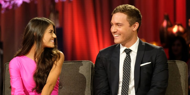 Exes Peter Weber and Madison Prewett on 'The Bachelor.' (ABC/John Fleenor)