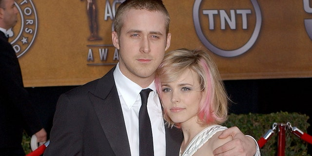 Rachel McAdams and Ryan Gosling starred together in 'The Notebook.' (Photo by Gregg DeGuire/WireImage)