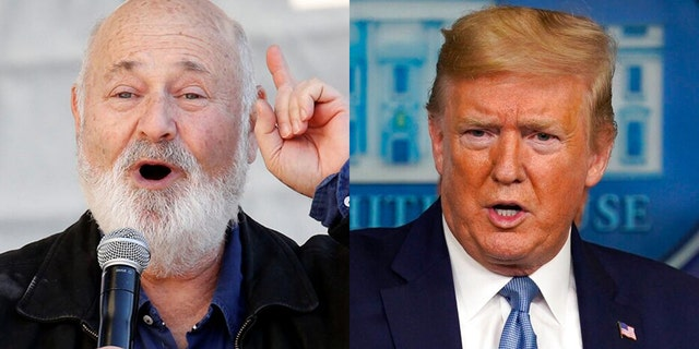 Rob Reiner said Donald Trump is going to get people in New York killed amid the coronavirus pandemic.