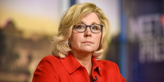 Rep. Liz Cheney, R-Wyo., is calling for a temporary halt to tours at the U.S. Capitol as the coronavirus continues to spread. (William B. Plowman/NBC/NBC NewsWire via Getty Images)