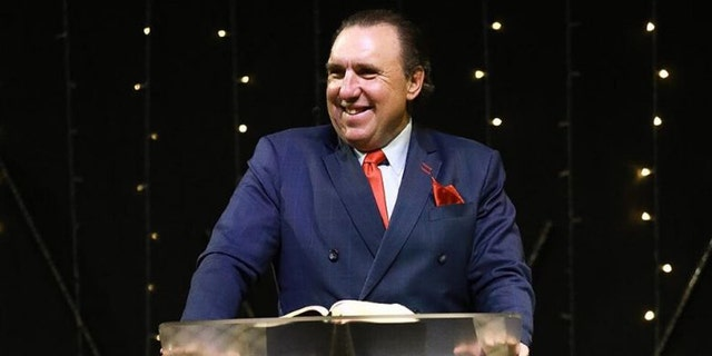 Dr. Rodney Howard Browne preaching at The River at Tampa Bay Church