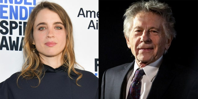 Adèle Haenel and Roman Polanski.