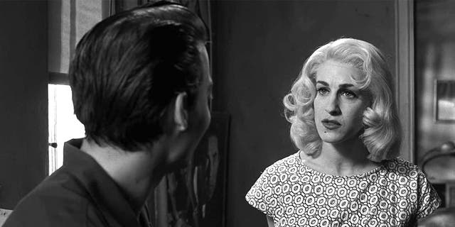 Sarah Jessica Parker as Dolores Fuller in 'Ed Wood.'
