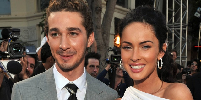 Shia LaBeouf and Megan Fox starred in the 'Transformers' franchise together. (Photo by Lester Cohen/WireImage)
