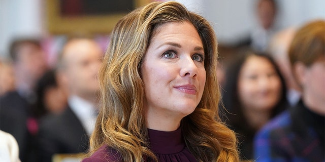 Sophie Gregoire Trudeau, the wife of Canadian Prime Minister Justin Trudeau.
