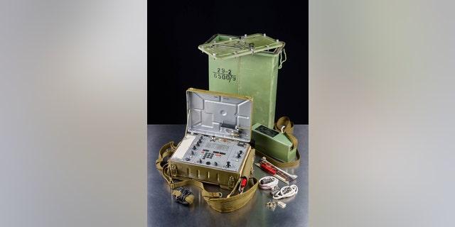 The Soviet spy radio.