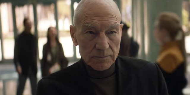 Patrick Stewart returns to his role as Jean-Luc Picard in 'Star Trek: Picard.'