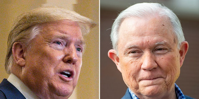 Trump, Sessions Spar as President Reiterates Tuberville Endorsement