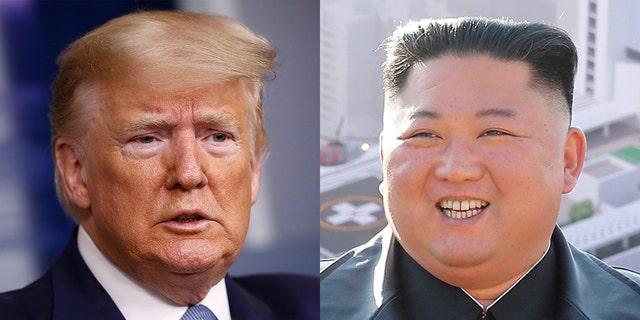 Idiotic Trump offered Kim Jong Un coronavirus help in personal letter Trump-Un-RT