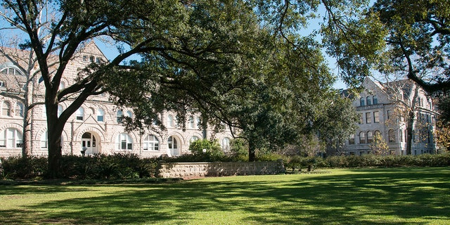 Campus of Tulane University, New Orleans, La. (Education Images/Universal Images Group via Getty Images)