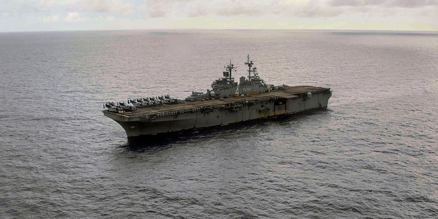 A sailor assigned to the amphibious assault ship USS Boxer has tested positive for coronavirus, a first for the service, according to the Navy.