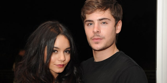 Vanessa Hudgens and Zac Efron co-starred in the 'High School Musical' movies. (Photo by Jordan Strauss/WireImage)