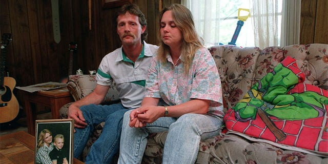 Pam Hobbs, with husband, Terry, hopes people will remember the life of her son, Steve Branch, and not only his death, circa 1993.