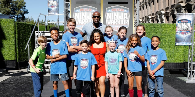 "Akbar Gbajabiamila, father of four, former NFL athlete, and host of ""American Ninja Warrior Junior"" on Universal Kids explains exercises need to be fun to keep children engaged."