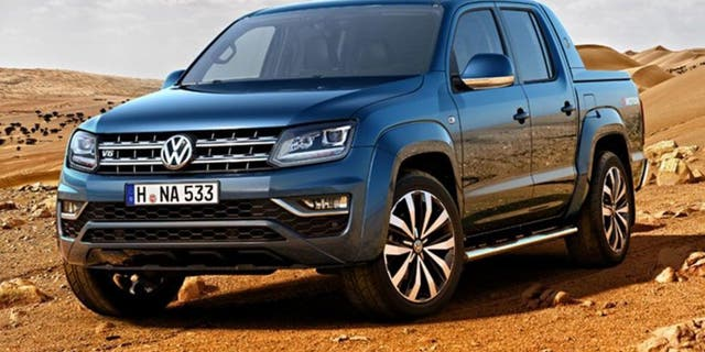 The current Amarok was designed wholly by VW.