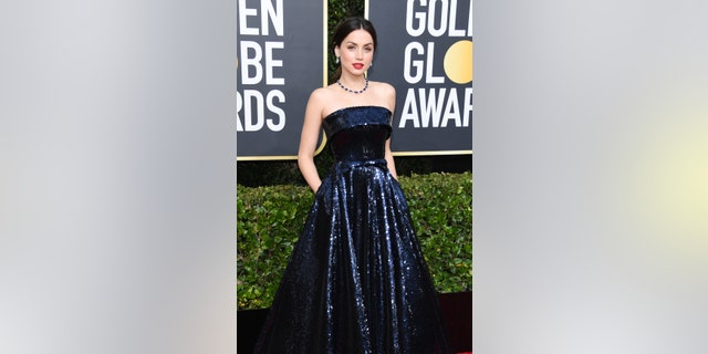 Ana de Armas attends the 77th Annual Golden Globe Awards at The Beverly Hilton Hotel on January 5.