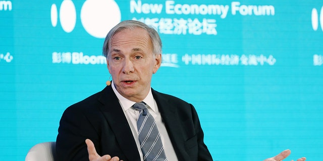Ray Dalio, founder of Bridgewater Associates LP, speaks during a panel discussion at the Bloomberg New Economy Forum in Beijing, China, on Thursday, Nov. 21, 2019. PHOTO: Takaaki Iwabu/Bloomberg via Getty Images