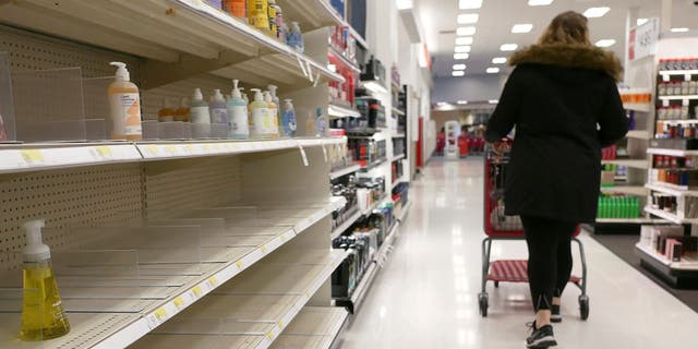 Coronavirus has caused a run on certain products, leaving some stores with empty shelves.