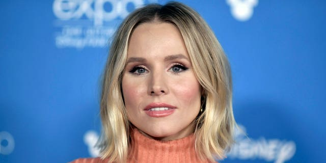 FILE - This Aug. 24, 2019 file photo shows actress Kristen Bell at the 2019 D23 Expo in Anaheim, Calif.
