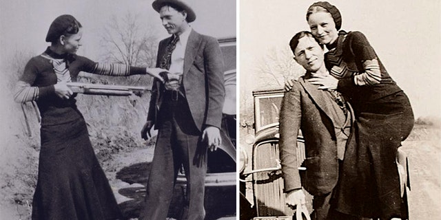 Famous Great Depression outlaws Clyde Barrow and Bonnie Parker died in a 1934 ambush by law enforcement officers.
