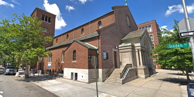 St. Brigid Church in Brooklyn, NYC.