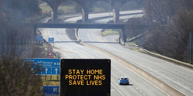 The North West Motorway Police said a motorist making a 224-mile roundtrip to collect windows bought on eBay was pulled over on Sunday.
