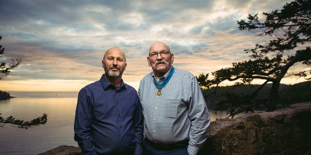 Marcus Brotherton (left) and Gary Beikirch