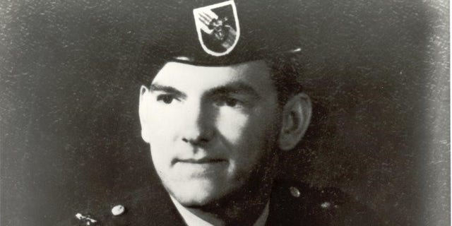 Gary Beikirch during his time as a Green Beret.