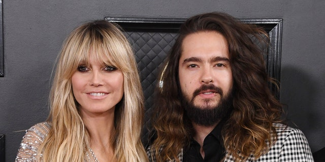 Heidi Klum and her husband Tom Kaulitz. (Photo by Steve Granitz/WireImage)