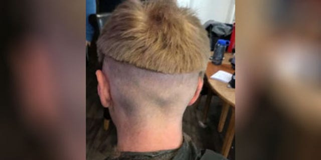 Josh, 20, attempted a bowl cut but was reportedly unhappy with the results.