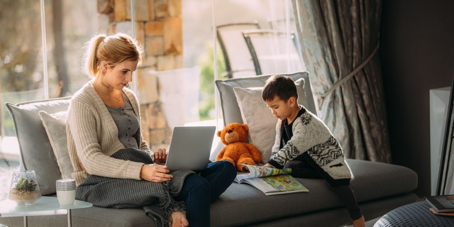 Children – and adults – thrive on routine, so setting up a schedule including periods of school work, play time and focus on learning a new skill or hobby.
