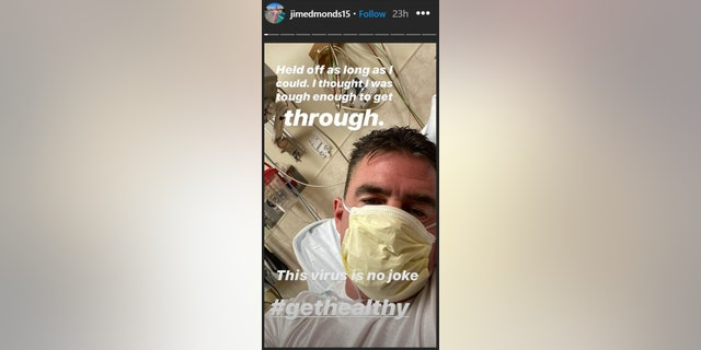 Jim Edmonds tested positive for coronavirus last week.