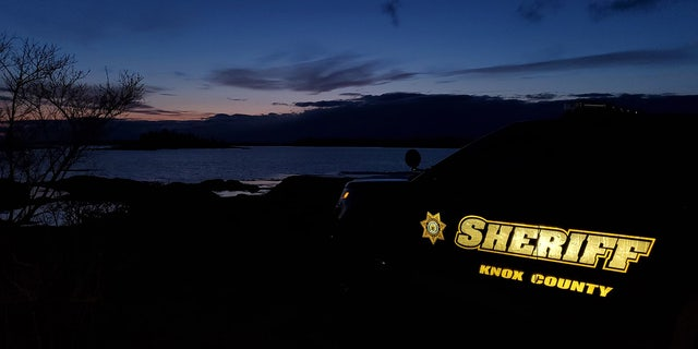 This photo uploaded by the Knox County Sheriff's Office on February 29, 2020, shows the night watch in North Haven, Maine.