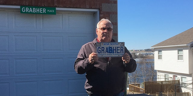 Lorne Grabher says he's used the same license plate for nearly three decades.