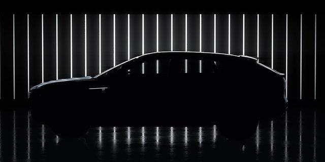 Cadillac has teased the shape of the Lyriq SUV.