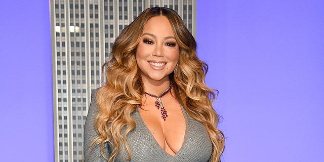 "Mariah Carey will perform on Sunday during ""FOX Presents the IHeart Living Room Concert for America."" (Photo by Evan Agostini/Invision/AP)"