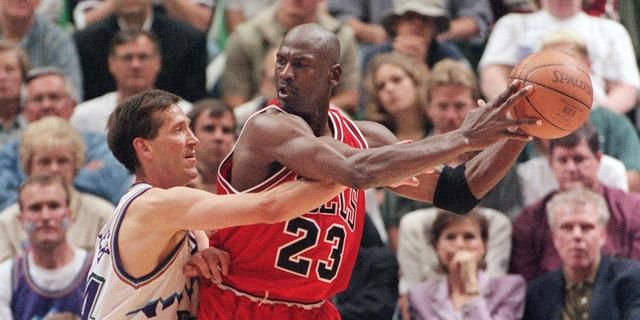 Michael Jordan played for the Bulls during the 1997-98 season