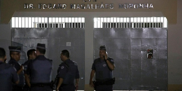 A view of the Dr. Edgar Magalhaes Noronha jail, where many inmates broke out the day before their day-release privileges were due to be suspended over the coronavirus disease (COVID-19) outbreak, in Tremembe, Sao Paulo state, Brazil, March 16, 2020.