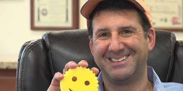 Aaron Krause, the President and CEO of Scrub Daddy.
