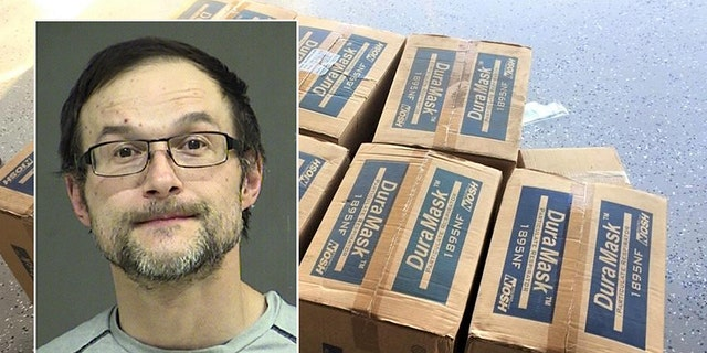 Vladislav V. Drozdek, 42, was arrested after thousands of N95 respirator masks were stolen in Portland, Ore. earlier this month, according to police.
