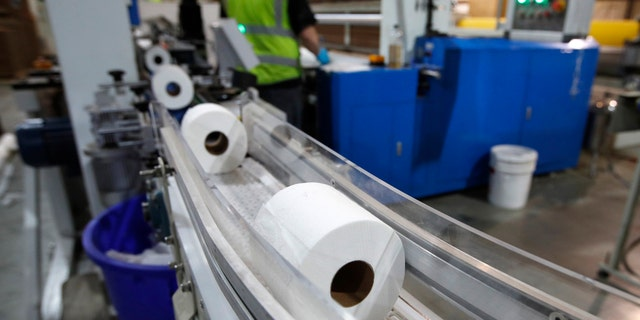 According to market research firm Nielsen. toilet paper sales nationally have jumped about 213 percent in the week ending March 13, compared to the same period a year before.