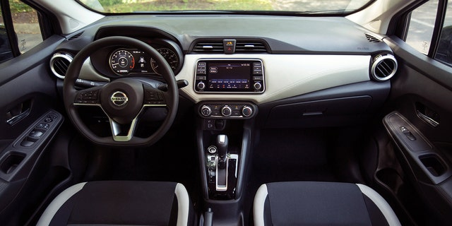 The Versa offers the same level of tech as the Sentra.
