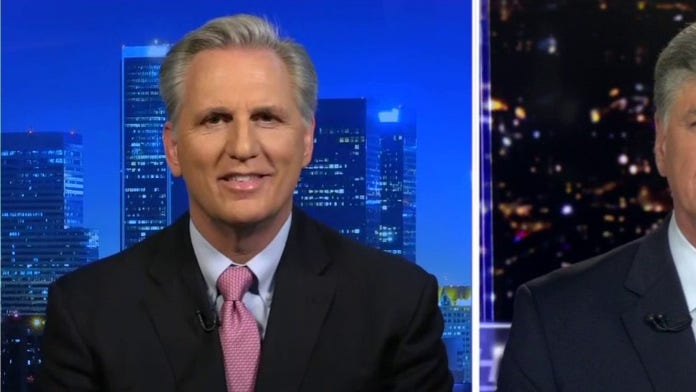 McCarthy rips Pelosi, says Dems were 'preoccupied with impeachment ...