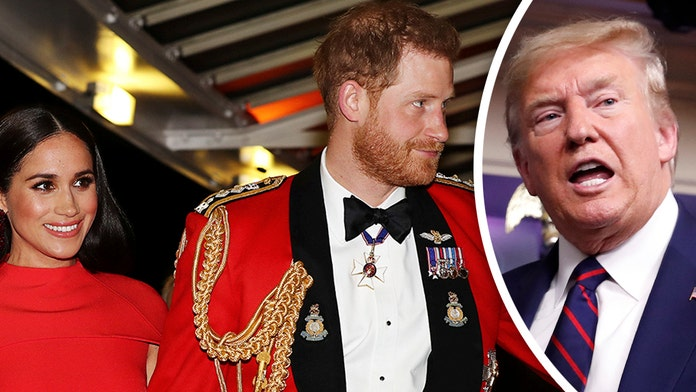 Trump tells Prince Harry, Meghan Markle 'they must pay' for ...