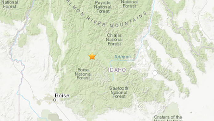 Idaho earthquake measured at magnitude 6.5; state's largest in ...
